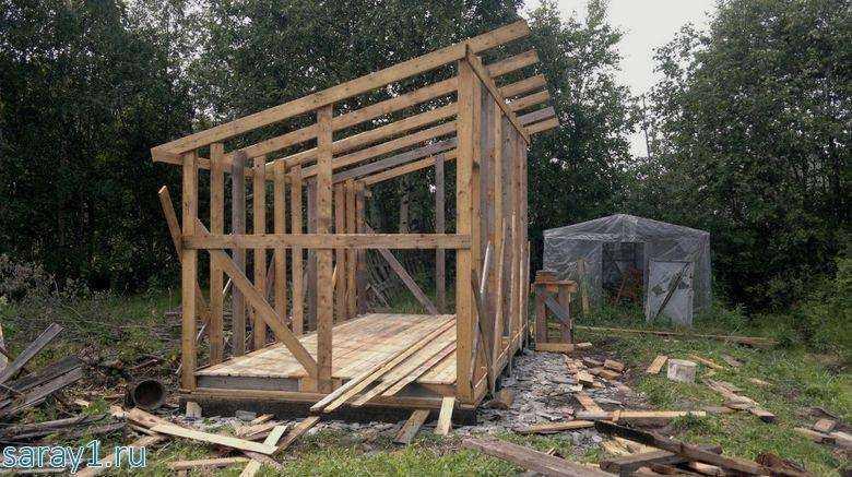 Как дешево построить сарай своими руками: выбор материалов, порядок выполнения, фото - handskill.ru